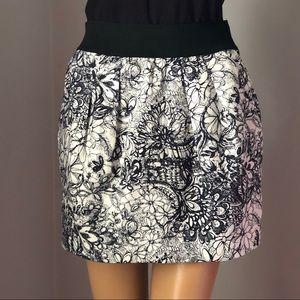 🌷 Zara Floral Pocket Skirt Medium